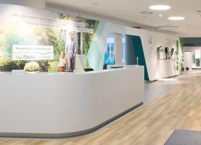 Neues Vaillant Kundenzentrum in der Clemens-Holzmeister-Straße 6, 1100 Wien