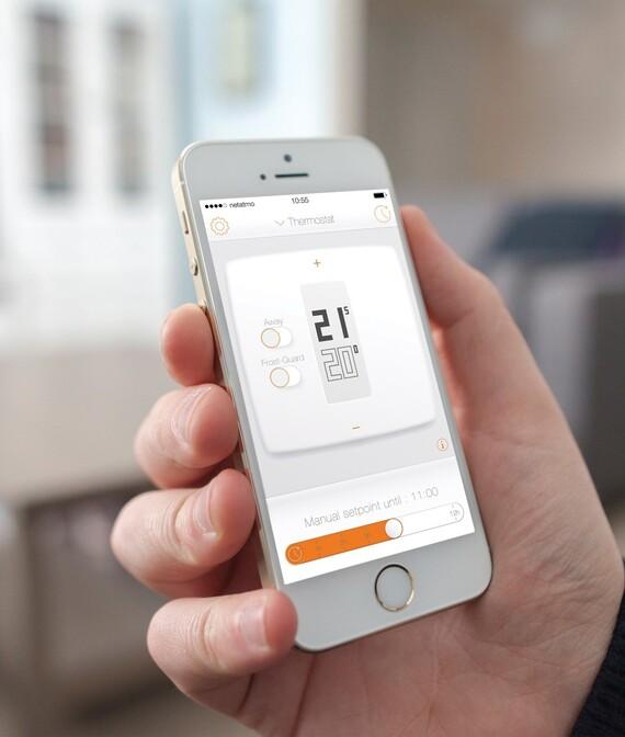 Vaillant Thermostat Netatmo: Raumtemperatur steuerbar via Smartphone