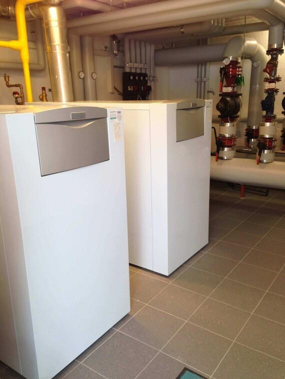Das Hotel Bär verwendet einen Gas-Brennwertkessel ecoCRAFT VKK 2806/3-E mit jeweils 280 KW