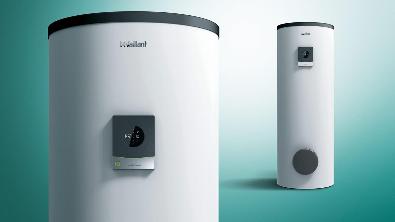 neue warmwasserspeicher mit green iq label vaillant. Black Bedroom Furniture Sets. Home Design Ideas