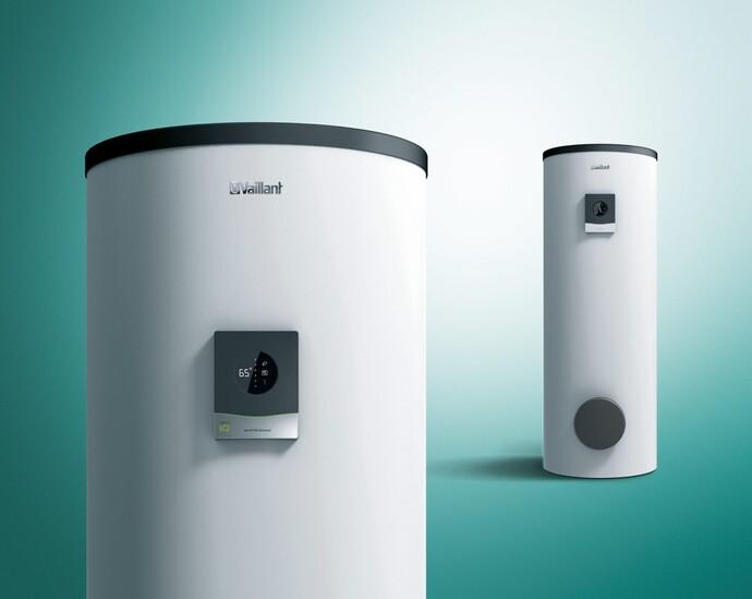 Mit dem neuen Angebot an Warmwasserspeichern vergrößert Vaillant gleichzeitig das Green iQ Angebot