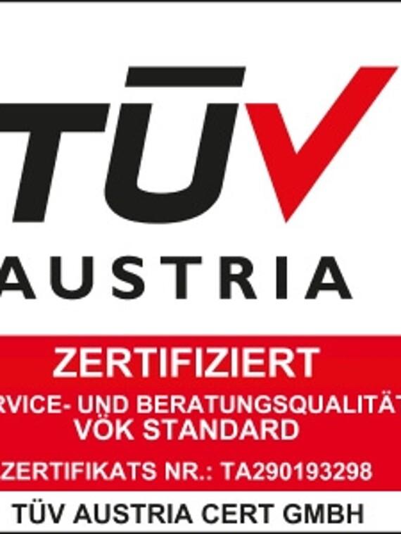 TÜV Zertifizierung Logo für Vaillant Kundendienst