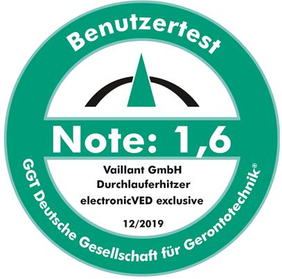 Benutzertest Note 1,6