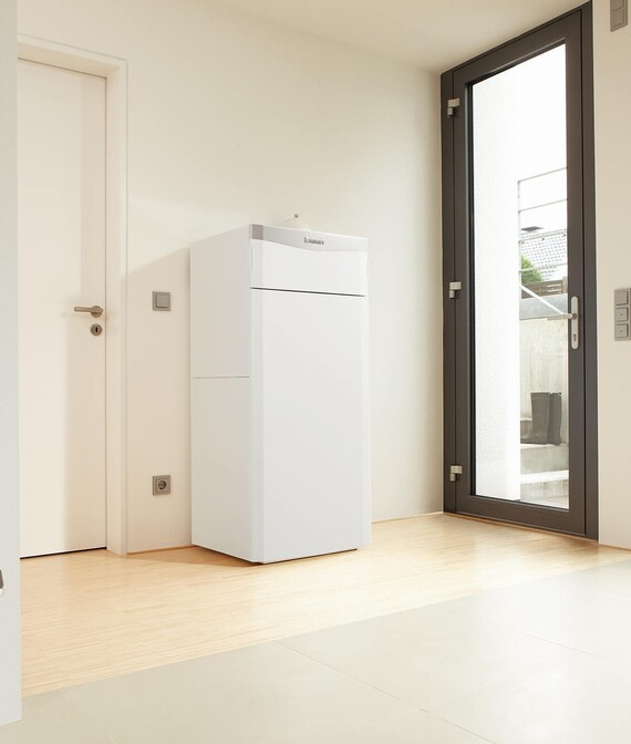 Das Vaillant Kompaktheizgerät ecoCOMPACT VSC im Wohnraum