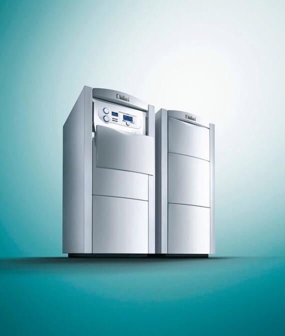 Vaillant Gas-Brennwertkessel ecoVIT exclusiv mit Warmwasserspeicher actoSTOR