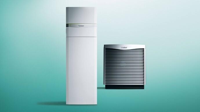 Luft/Wasser Wärmepumpe | flexoCOMPACT exclusive mit aroCOLLECT