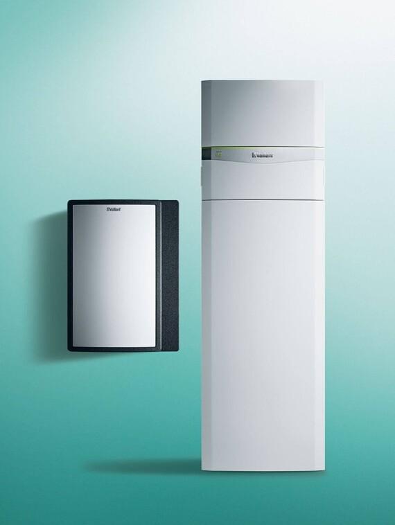 Wasser/Wasser Wärmepumpe flexoCOMPACT exclusive mit fluoCOLLECT
