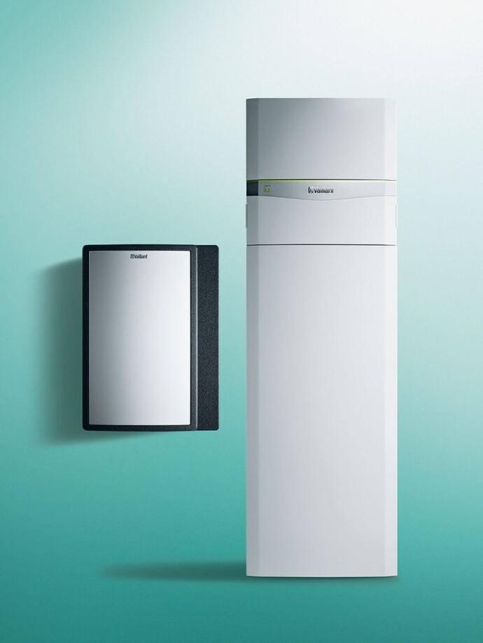 Wasser/Wasser Heizungswärmepumpe | flexoCOMPACT exclusive mit fluoCOLLECT