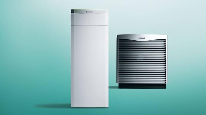 Luft/Wasser Wärmepumpe | flexoTHERM exclusive mit aroCOLLECT