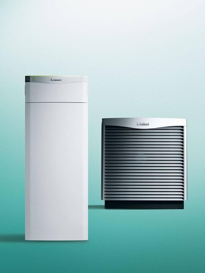 Heizungs-Wärmepumpe Luft/Wasser | flexoTHERM exclusive mit aroCOLLECT