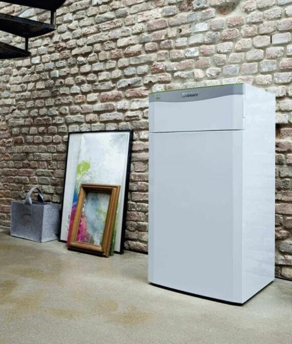 Vaillant Wärmepumpe flexoTERM exclusive in einem Wohnraum