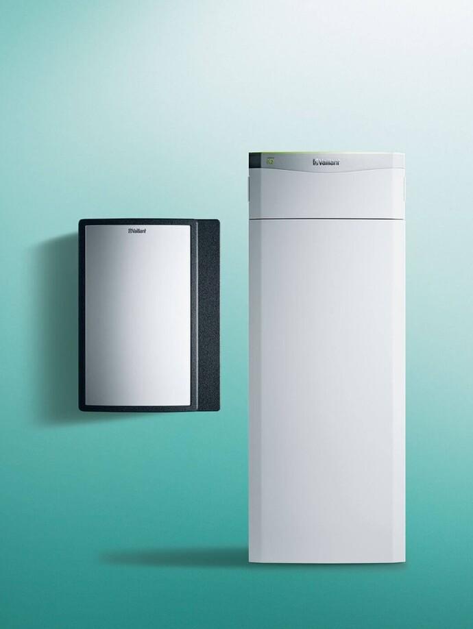 Wärmepumpe Wasser/Wasser | flexoTHERM exclusive mit fluoCOLLECT
