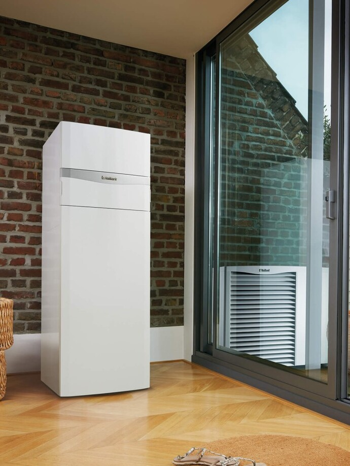Luft/Wasser Heizungswärmepumpe | aroTHERM VWL Monoblock mit uniTOWER