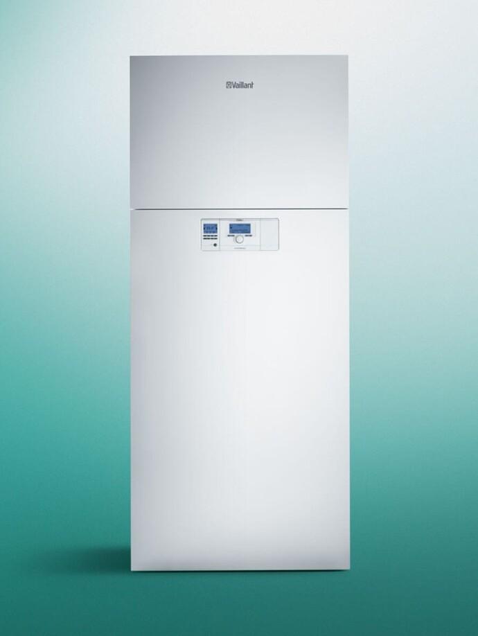 Innen aufgestellte Luft/Wasser Wärmepumpe | versoTHERM