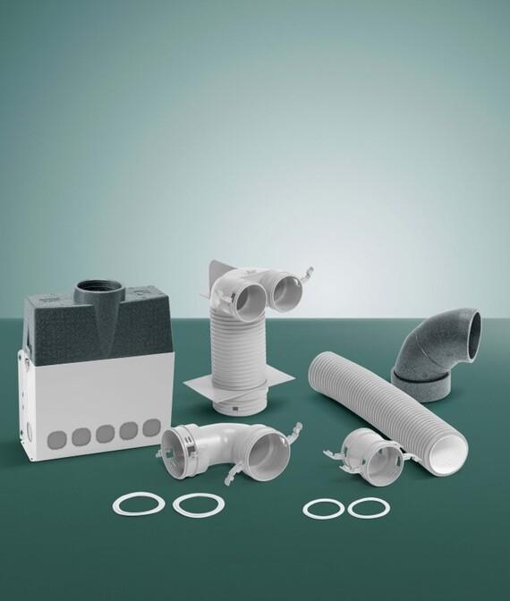 Das Vaillant Lüftungsgerät recoVAIR VAR 150: ein innovatives Zu-Abluftsystem