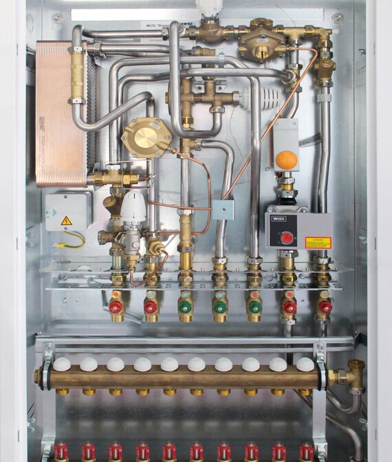 Vaillant Wohnungsübergabestation thermoJET VT10 für Niedertemperaturheizungen