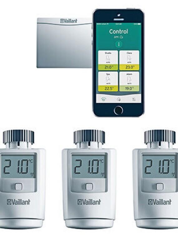 ambiSENSE Thermostatventile für die Befestigung am Heizkörper bestimmt