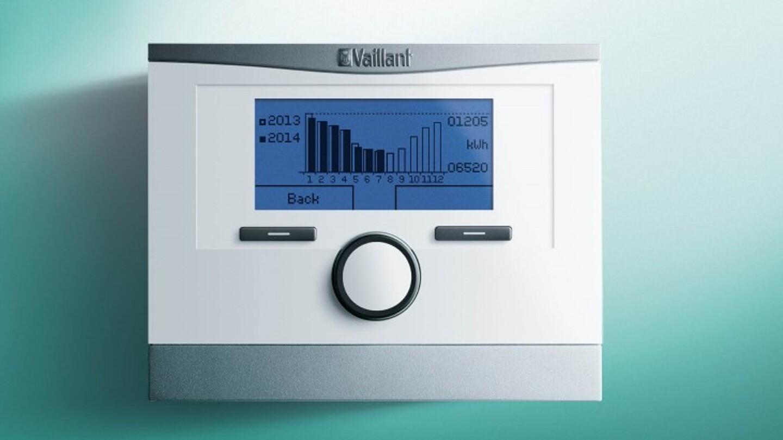 Vaillant calorMATIC 370F funk Raumthermostat Heizungsreglung Regler Reglung