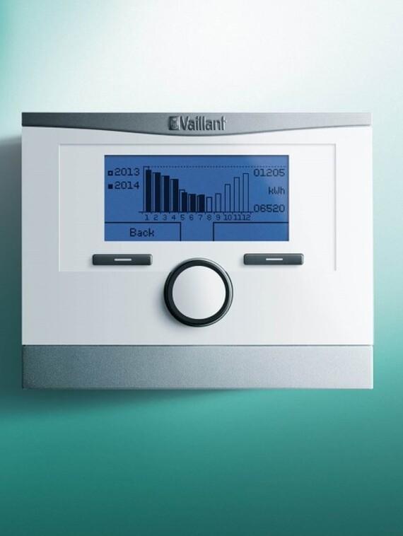 Vaillant Systemregler multiMATIC 700 mit grafischer Solarertragsanzeige