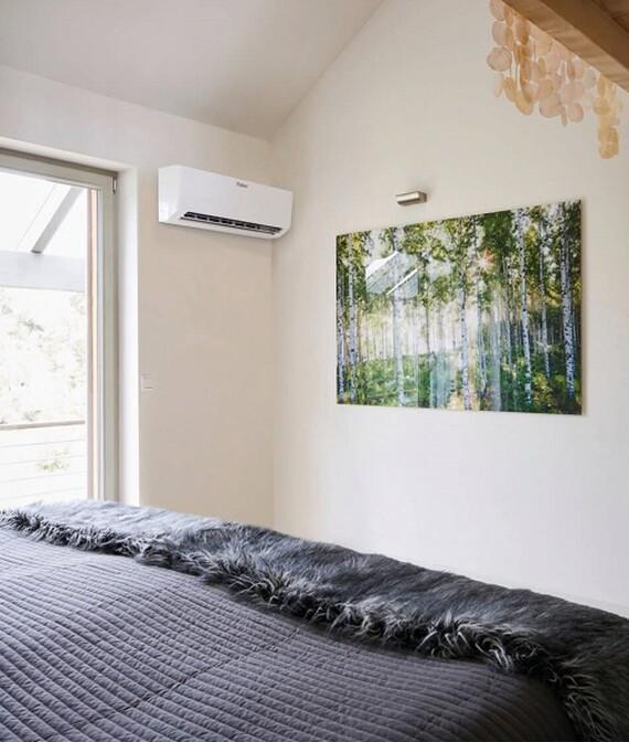 Vaillant climaVair: Innengerät im Schlafzimmer