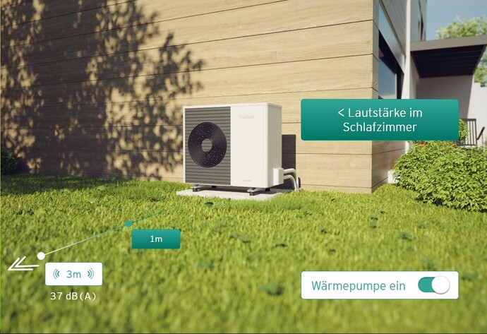 Vaillant Soundbox - Aufstellung der Luft-Wasser-Wärmepumpe
