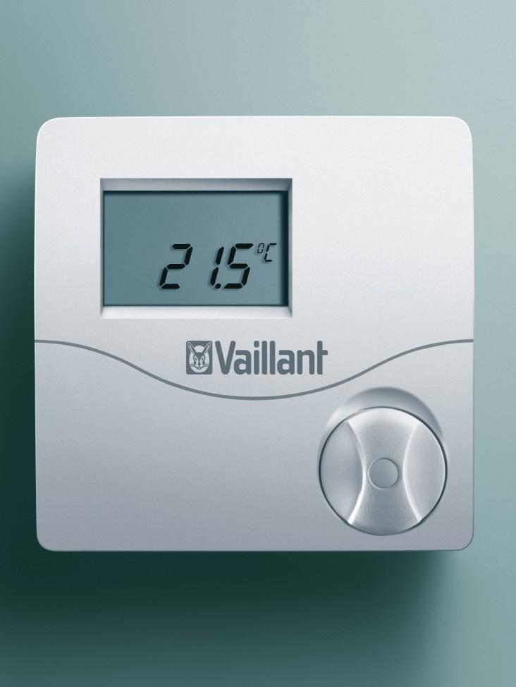 elektromechanischer raumthermostat rtr e 6124 raumthermostat fussbodenheizung ventil. Black Bedroom Furniture Sets. Home Design Ideas