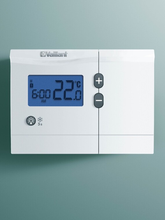 funk raumthermostat calormatic 250f vaillant. Black Bedroom Furniture Sets. Home Design Ideas