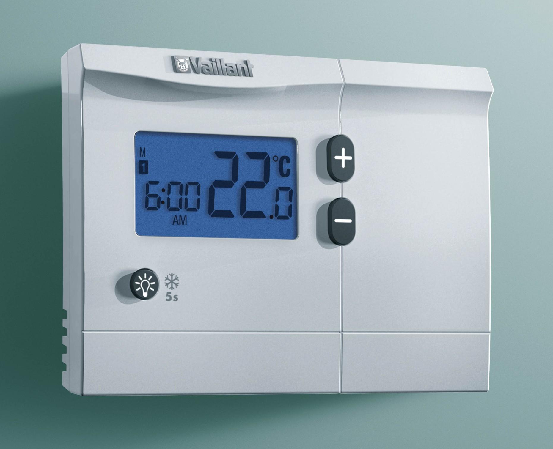 raumthermostat calormatic 250 vaillant. Black Bedroom Furniture Sets. Home Design Ideas